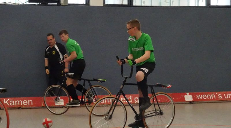 Radball: Deutsche Meisterschaft Viertelfinale Schüler-U15