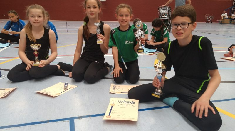 Kunstradsport – 2. Minicup 2019 in Hungen